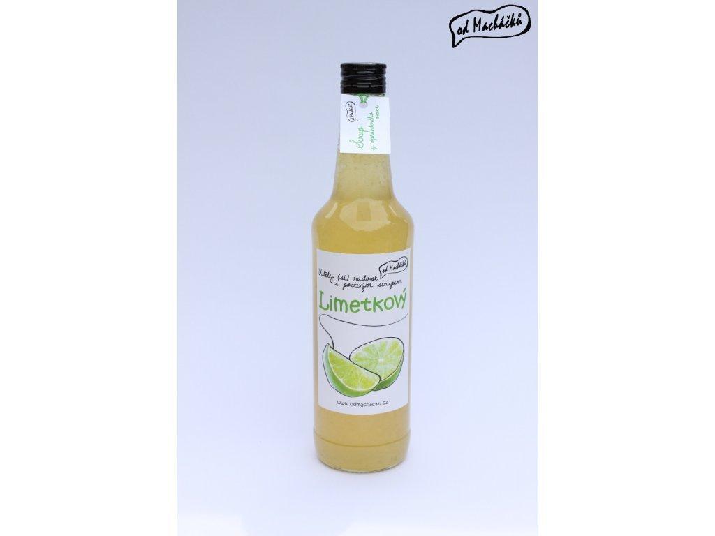 Sirup Limetkový 500 ml