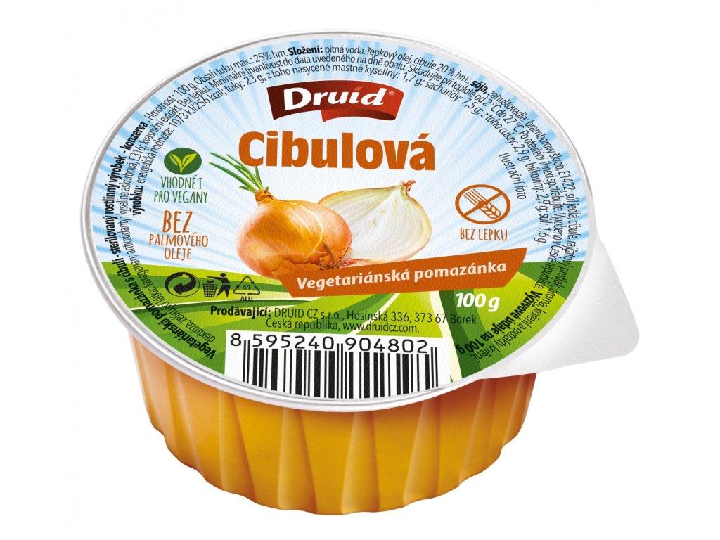 Veg. pomazánka s cibulí DRUID 100 g
