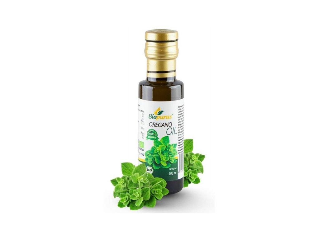 oreganovy olej bio 100 ml macerat nemecko biopurus