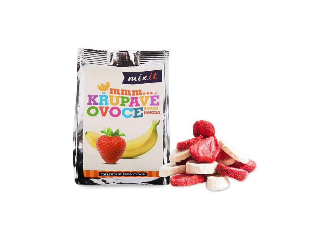 mixit krupave ovoce do kapsy banan jahoda 1 ks 23 g 14748255151905 (1)