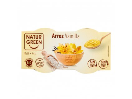 10098 dezert ryzovy vanilka bio 2x125g