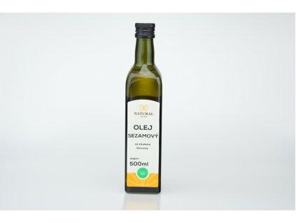 15957 olej sezamovy l za studena 500ml natji