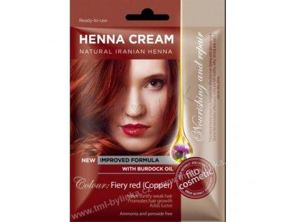 17331 kremova henna medene cervena 50ml tml
