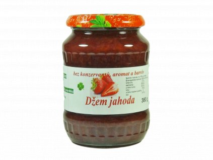 Džem jahoda 380 g oříznutí (1)