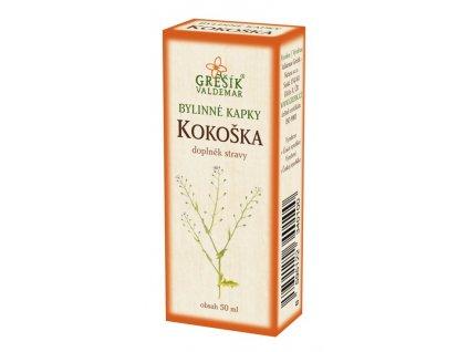 20991 kokoska kapky 50 ml gresik z 40 lih bylinne kapky