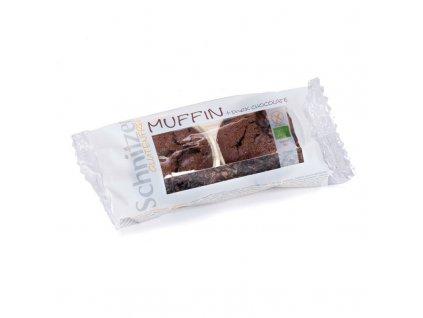schnitzer bio muffiny tmava cokolada bzl 140g 2x muffindark chocolate ct 6