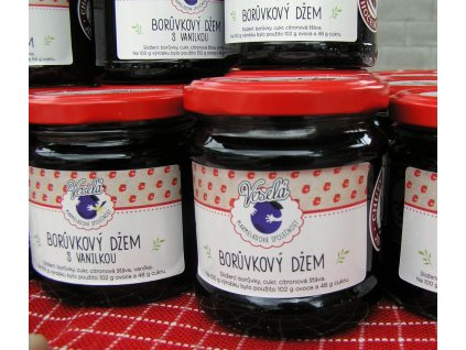 boruvkove marmelady