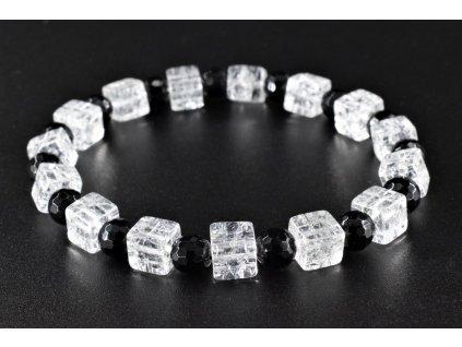 27711 obsidian pukany kristal naramek