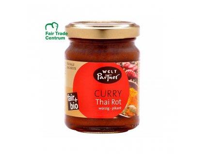 4838 fair trade bio kari pasta thajska cervena