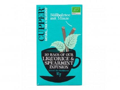 247823 caj liquorice spearmint infusion 30 g bio cupper