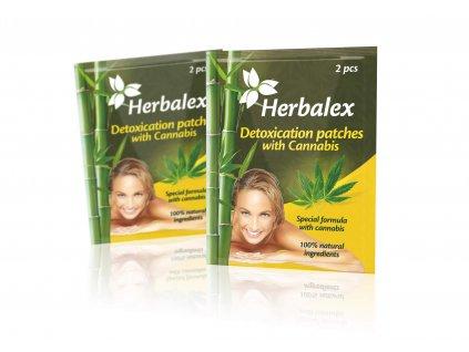 herbalex detoxikacni naplasti s konopim 2 ks cz