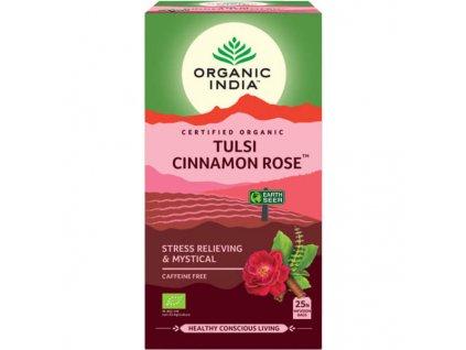 Tulsi s ružou a škoricou Organic India 600x600