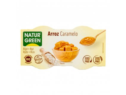 56954 dezert ryzovy karamel bio 2 x 125 g