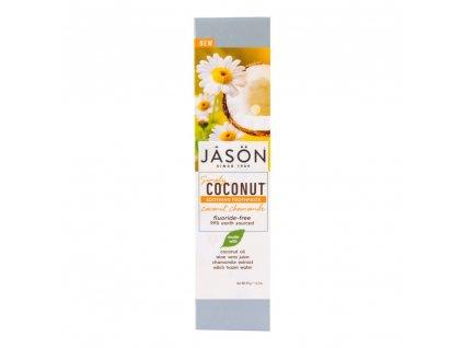 Zubní pasta simply coconut zklidňující 119 g   JASON