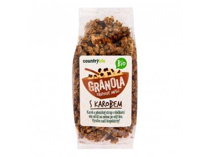 Granola - Křupavé müsli s karobem 350g BIO CL