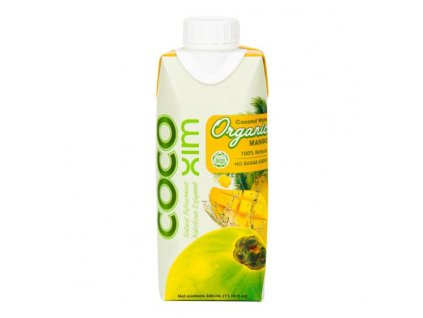 Voda kokosová ananas 1 l BIO COCOXIM