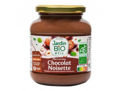 Pomazánka čokoládovo-lísková 350g BIO  JARDIN