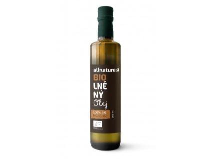 allnature lneny olej bio 250 ml (1)