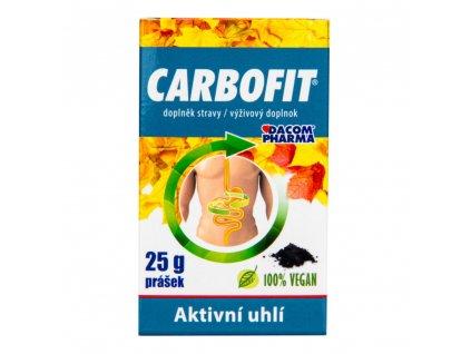 9978 carbofit aktivni rostlinne uhli v prasku 25g