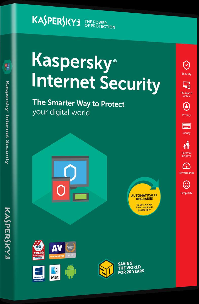 Kaspersky Internet Security, 1 PC / 1 rok