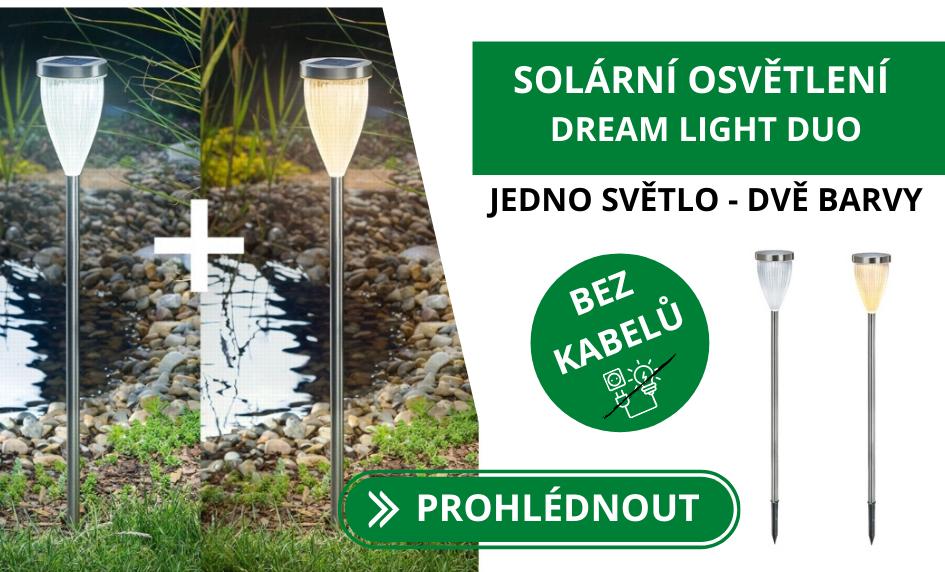 Solární designové osvětlení Esotec DREAM LIGHT DUO