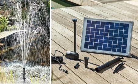 Solární fontány