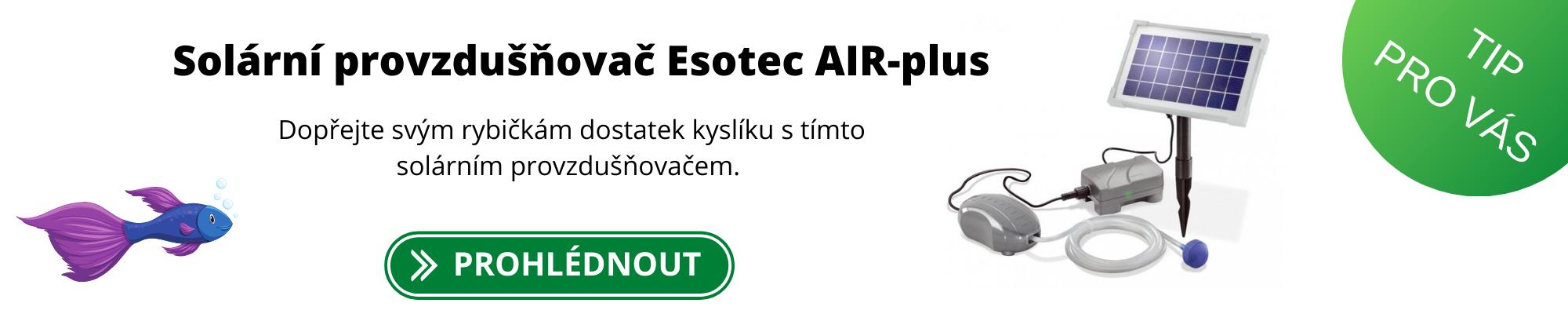 Solární provzdušňovač Esotec AIR-plus