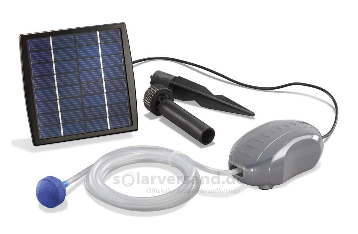 Solární provzdušňování