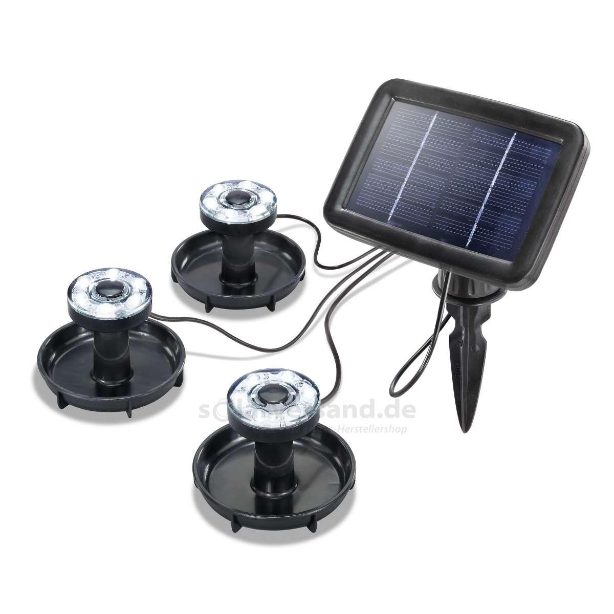 Solární podvodní osvětlení