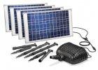 Solární zahradní potůček