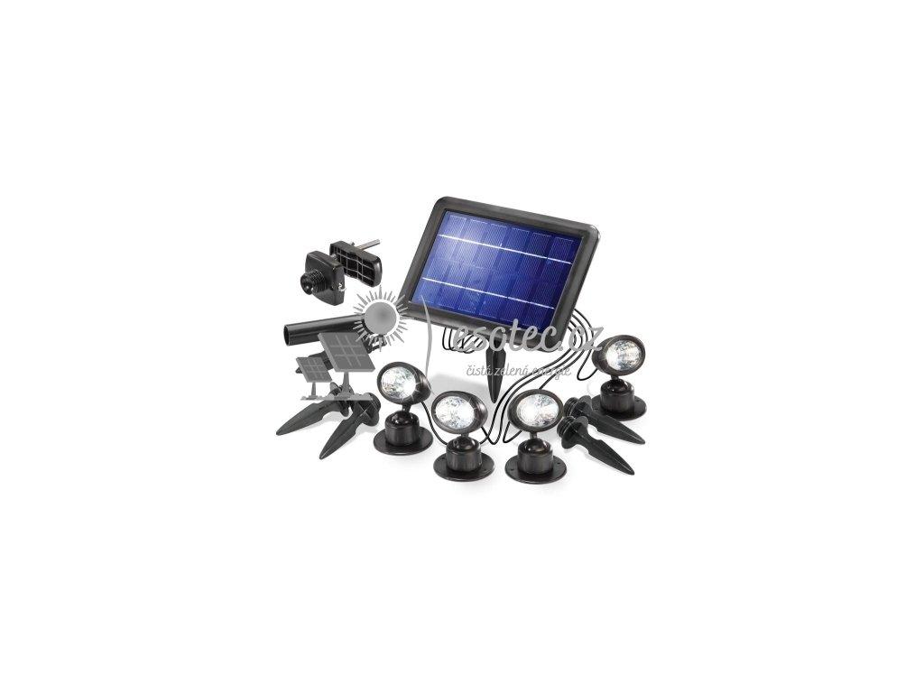 Solární osvětlení Esotec QUATRO
