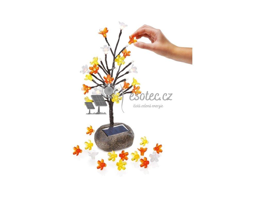 Solární světelný strom Esotec KYTICE 24 LED
