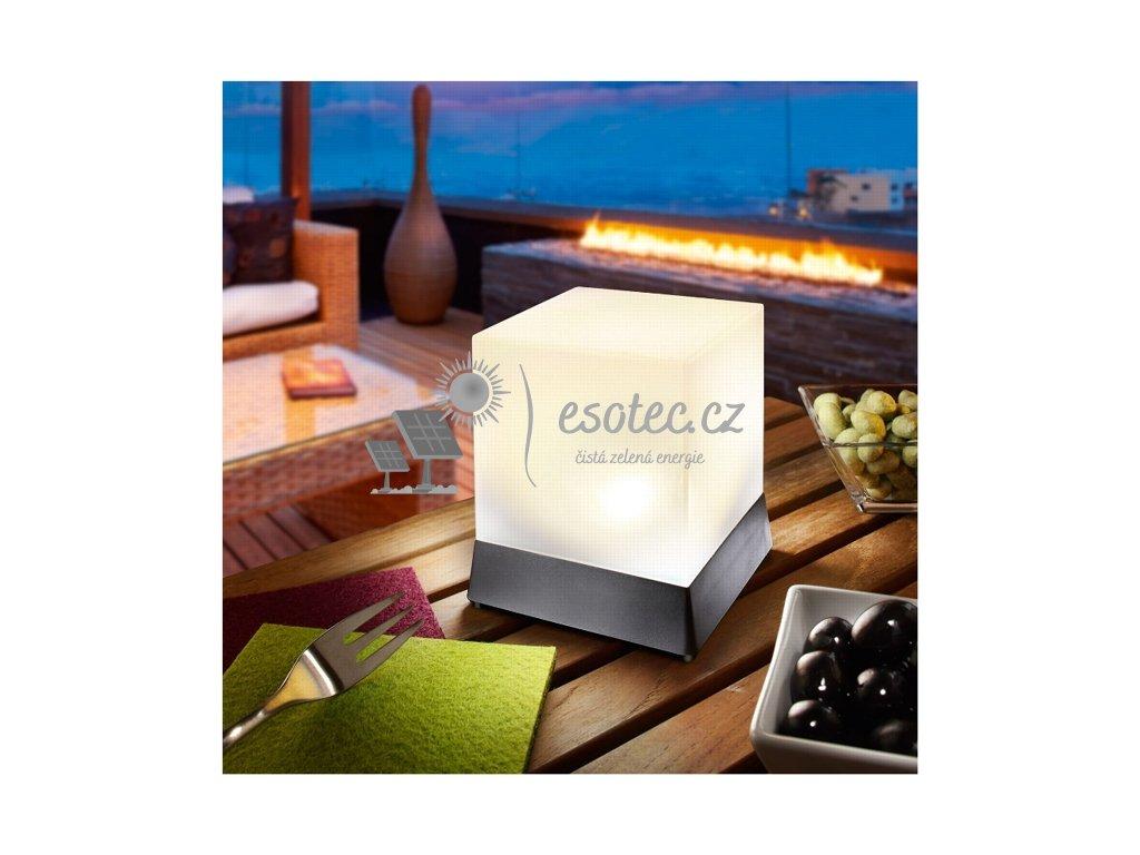 Solární osvětlení Esotec CUBE