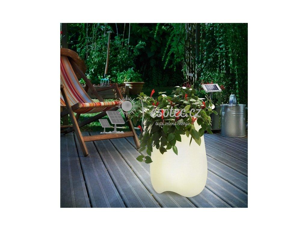 Solární osvětlení Esotec Květináč