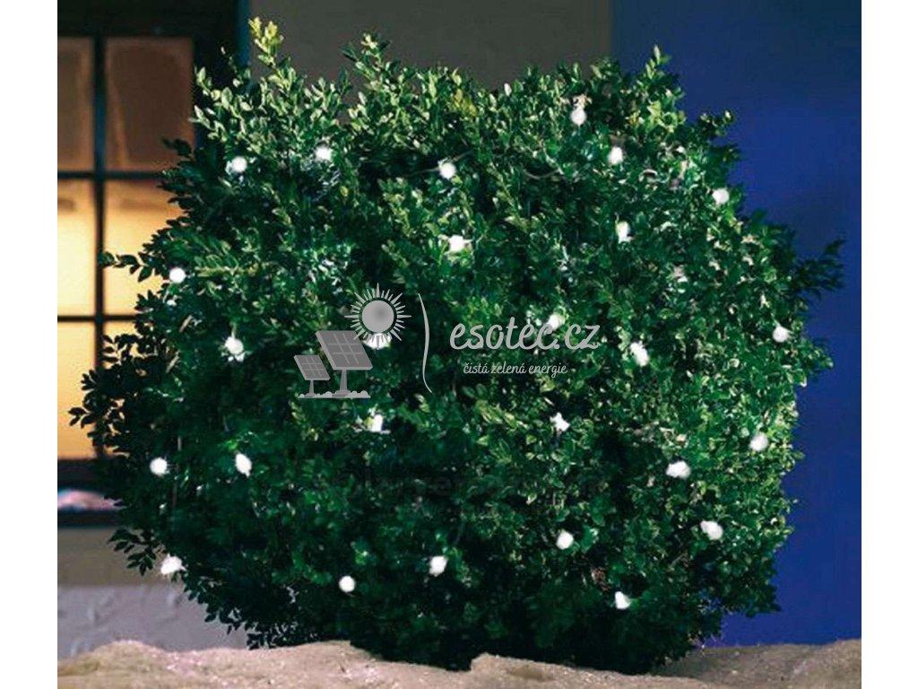 Kvalitní solarní světelný řetěz Esotec - 48 LED Esotec, svítící kuličky