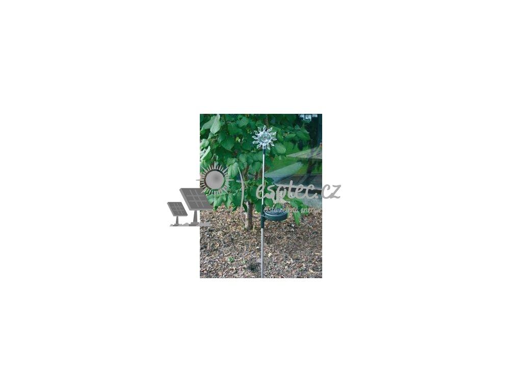 Solární zahradní dekorace (možnost výměny barvy)