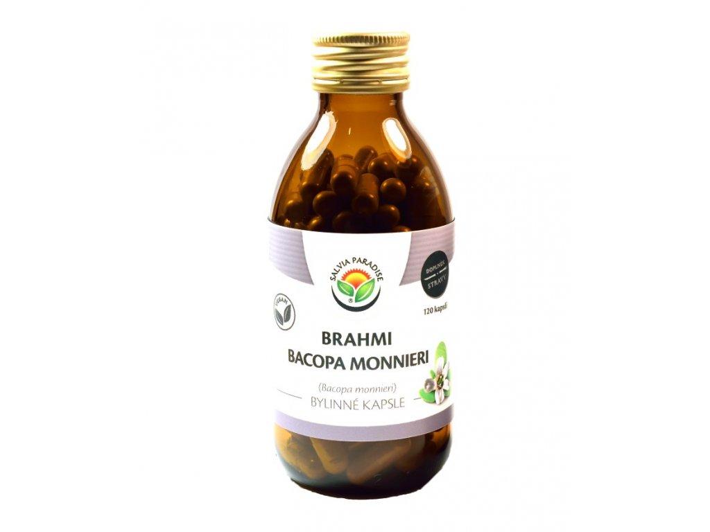 Brahmi - Bacopa monnieri kapsle