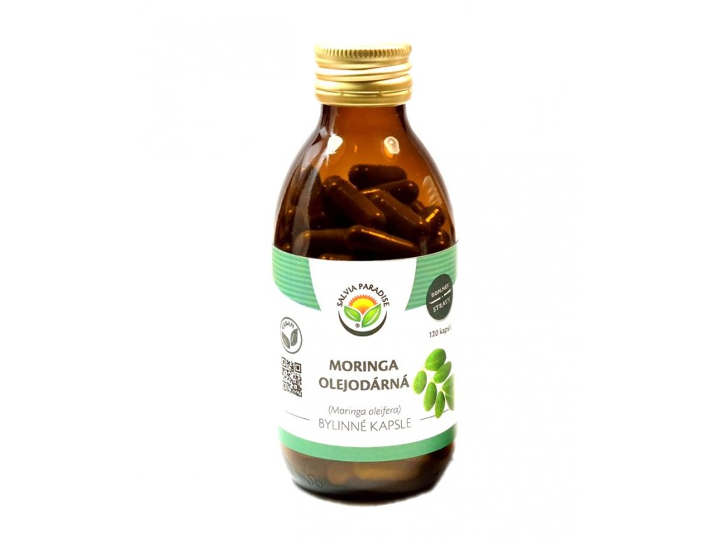 Moringa olejodárná kapsle