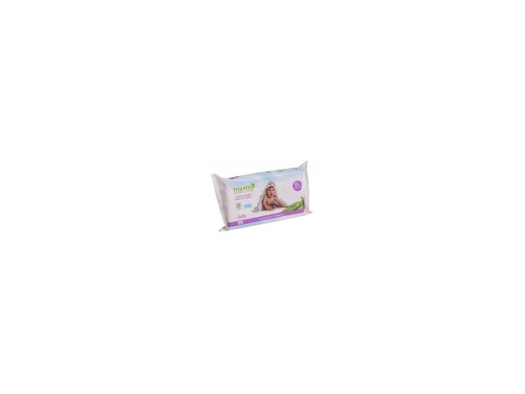 Dětské vlhčené ubrousky z organické bavlny MASMI MA297