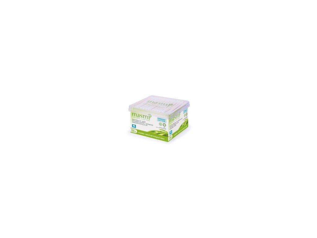 Hygienické tyčinky z organické bavlny Masmi MA60