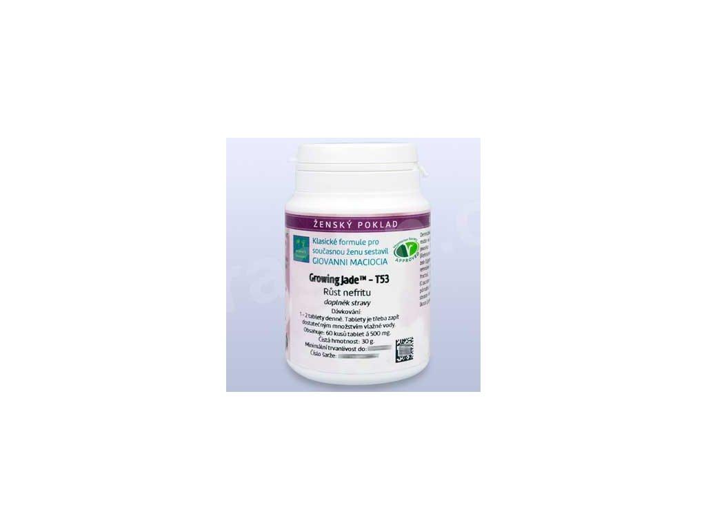 T53 - Růst nefritu (Growing Jade) (tablety)