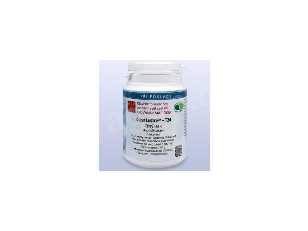 T24 - Čistý lesk (Clear Lustre) (tablety)