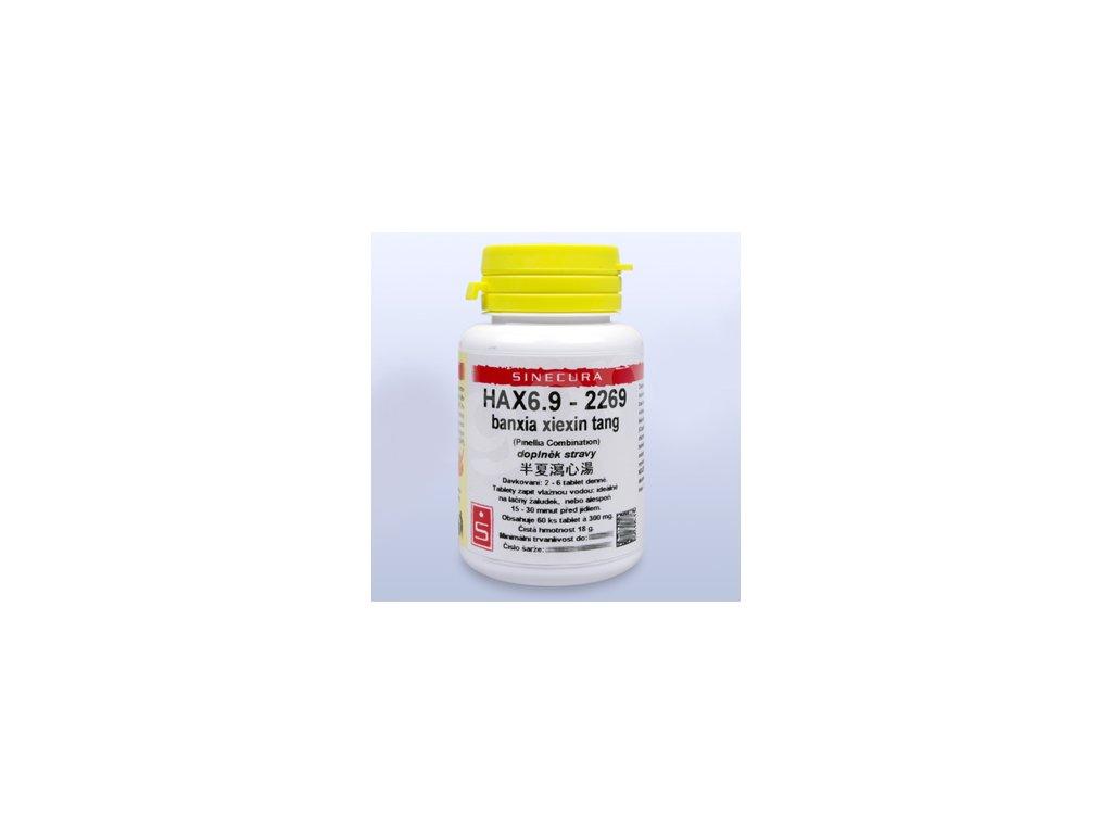 HAX6.9-2269 banxia xiexin tang (tablety)