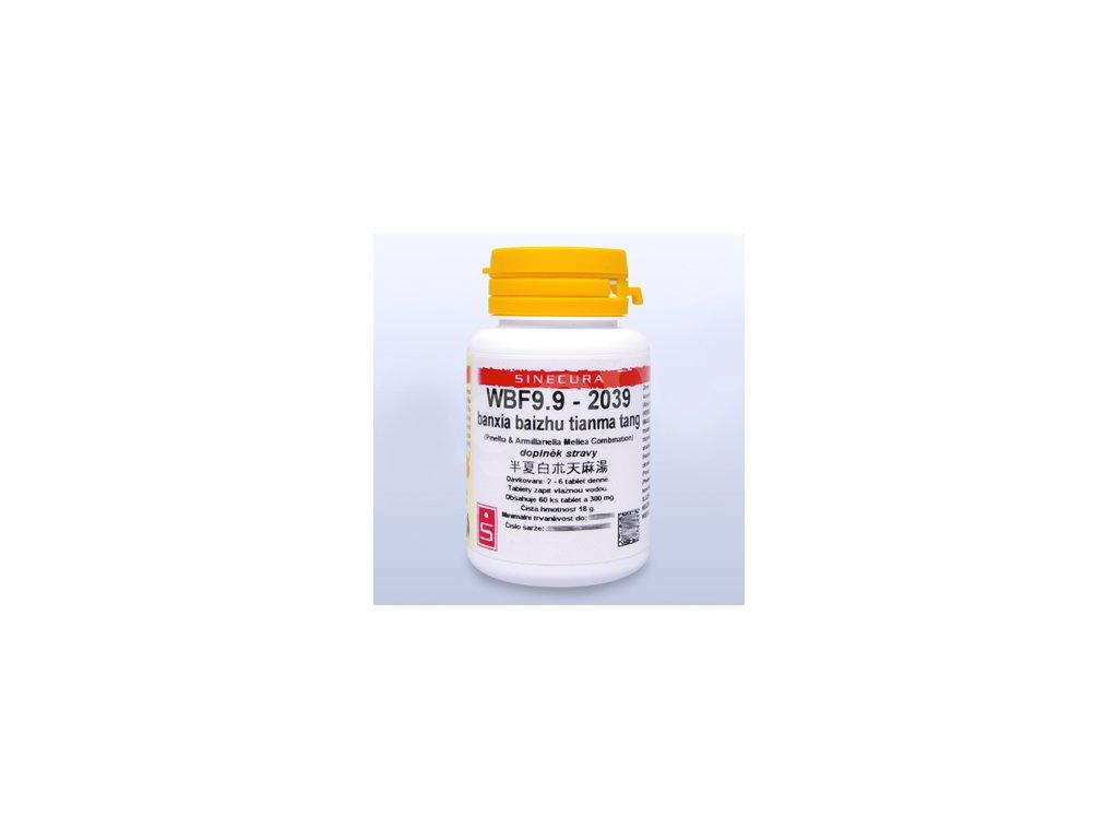 WBF9.9-2039 banxia baizhu tianma tang (tablety)