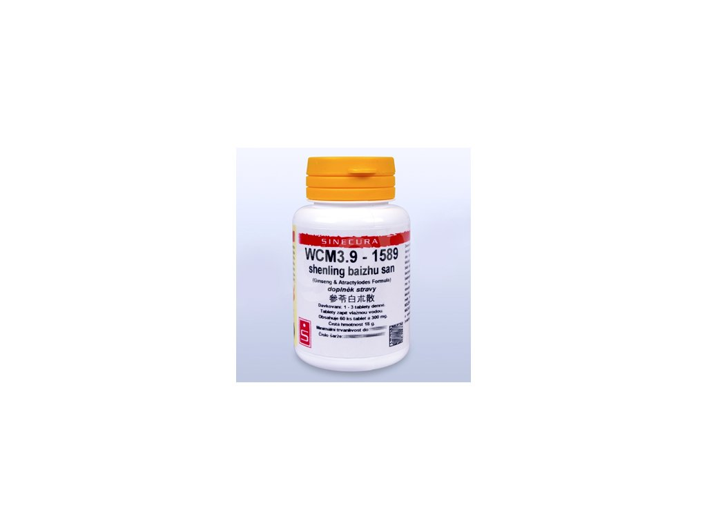 WCM3.9 - shenling baizhu san - pian/tablety