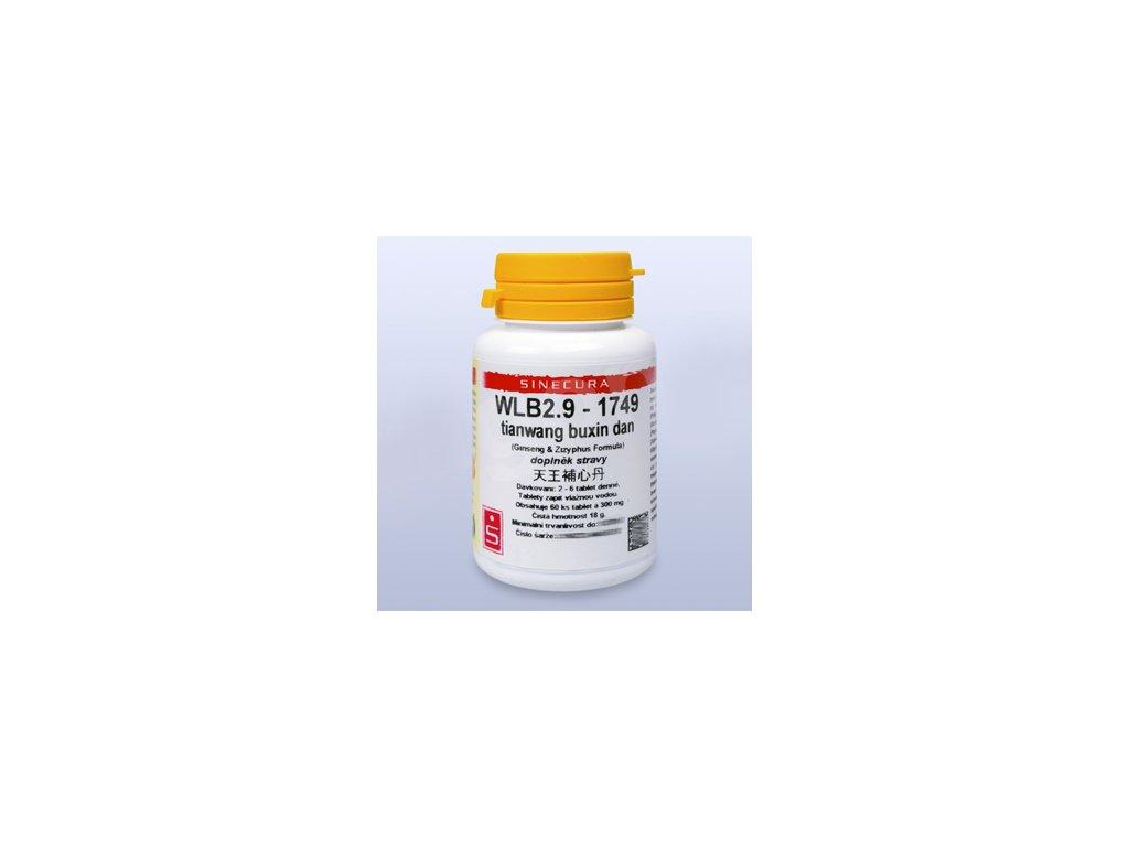 WLB2.9-1749 tianwang buxin dan (tablety)