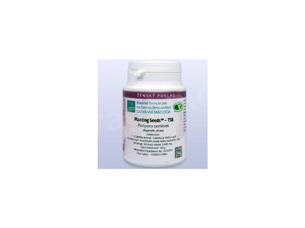 T58 - Podpora semínek (Planting Seeds) (tablety)