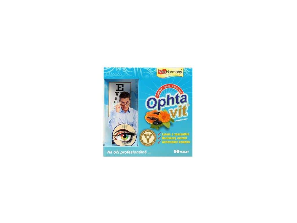 Ophtavit® - 90 tbl., pro zdravý zrak po celý život
