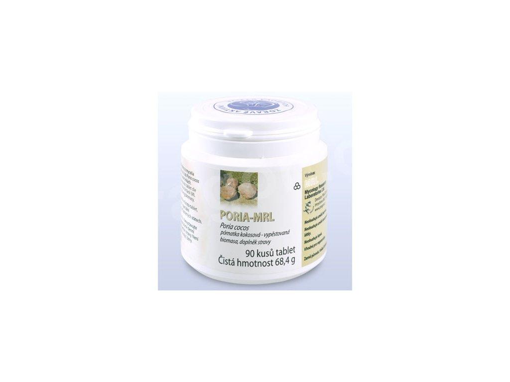 Poria–MRL mycélium/tablety 90
