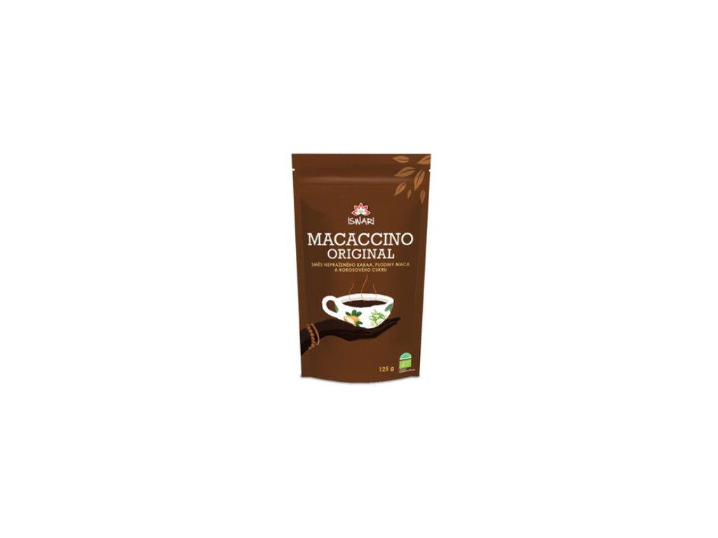 MACACCINO instantní kakaový energetický nápoj ISWARI 125g